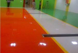 Epoxy Flooring/ Commercial Industrial Floor Strength & Safety
